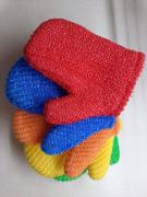 "Bath washcloth ""Mitten"""