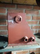 Bracket, pedestal for securing the semi-trailer axle to the BPW SAF MB frame, etc
