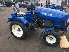Compact tractors for agricultural activities