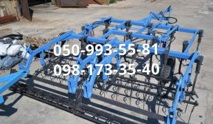 Cultivators with a roller and springs KGSH-4 / KGSh8,4 m. Presowing