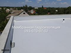 Installation and repair of membrane roofs in Kiev