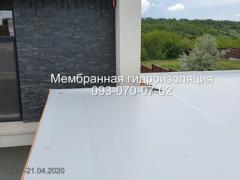 Installation of PVC and TPO membrane roofing in Novomoskovsk