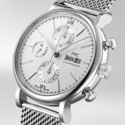 IWC Portofino Automatic Chronograph Silver Dial men's Watch