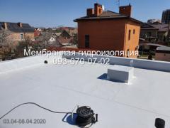 Laying PVC membrane in Kiev