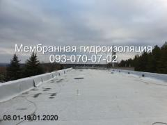 Membrane roofing in Novomoskovsk