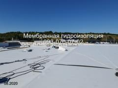 Membrane roofing, pvc and TPO membrane laying in Kryvyi Rih