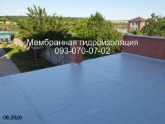 Membrane waterproofing in Kiev