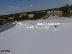 Professional installation of PVC membrane in Zheltye Vody