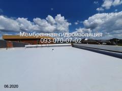ПВХ мембрана монтаж в Новомосковську
