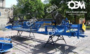 Reaper roller trailer with planetary knife drive BD-4,9