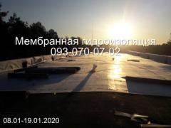 Ремонт і монтаж покрівлі ПВХ і ТПО мембраною в Дніпрі