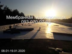 Repair and installation of PVC and TPO roofing membrane in Dnipro