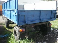 Tipper trailer 2 PTS-5 at circle tractor
