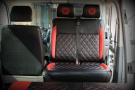 Tuning Internal Refit the interior trim volkswagen transporter T5 folks